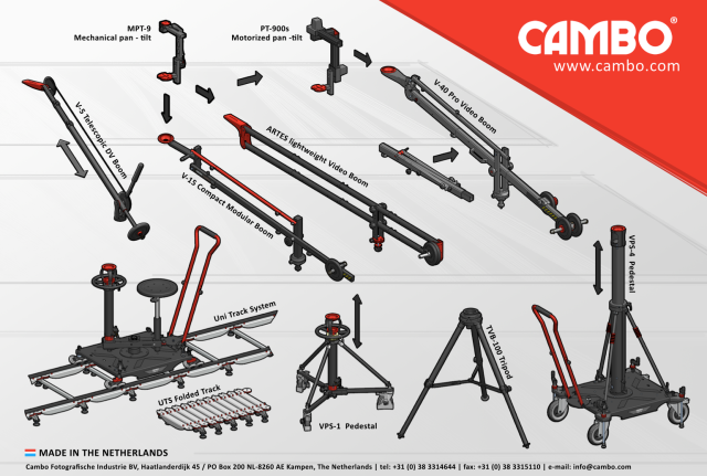 Cambo Video Supports