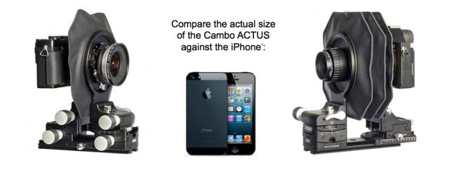 Cambo ACTUS iPhone