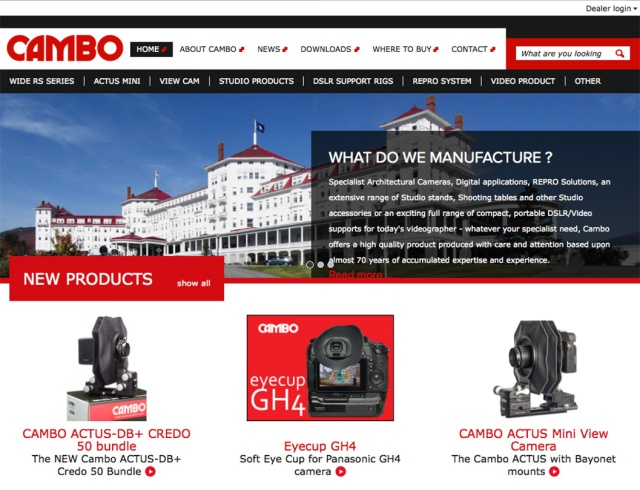 Cambo Website